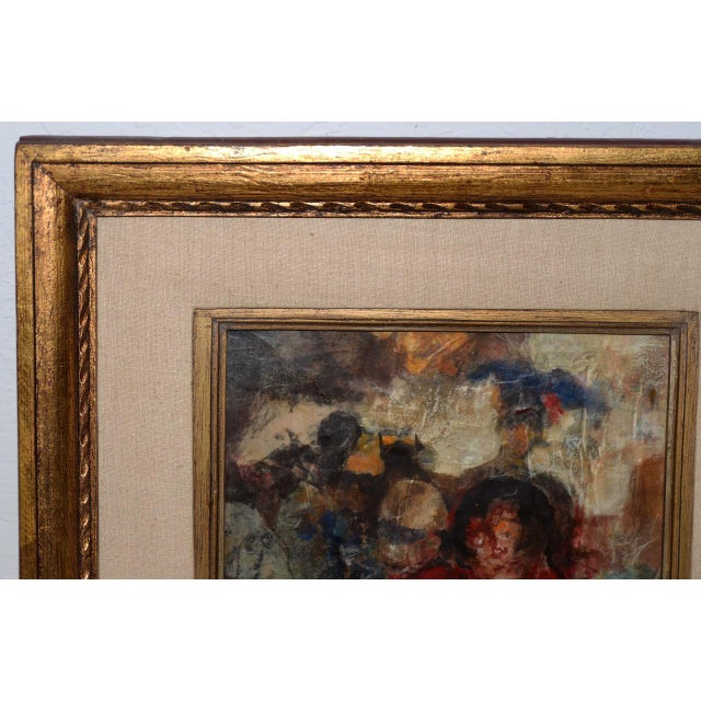 1960s Marsh Nelson (American, Mid 20th C.) Mixed Media Abstract Composition C.1967 For Sale - Image 5 of 8