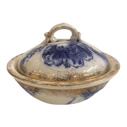 Blue Ironstone Soap Dish - Image 1 of 7