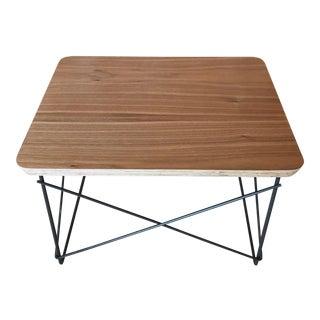 Eames LTR Walnut Side Table