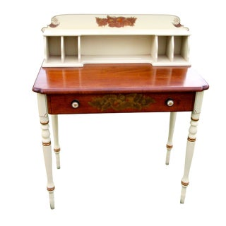20th Century Country Hitchcock Furniture Writing Desk For Sale