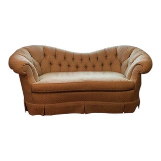 Baker Stately Homes Loveseat For Sale
