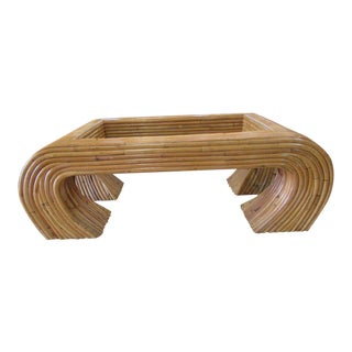 Island Style Ming Bamboo Coffee Table