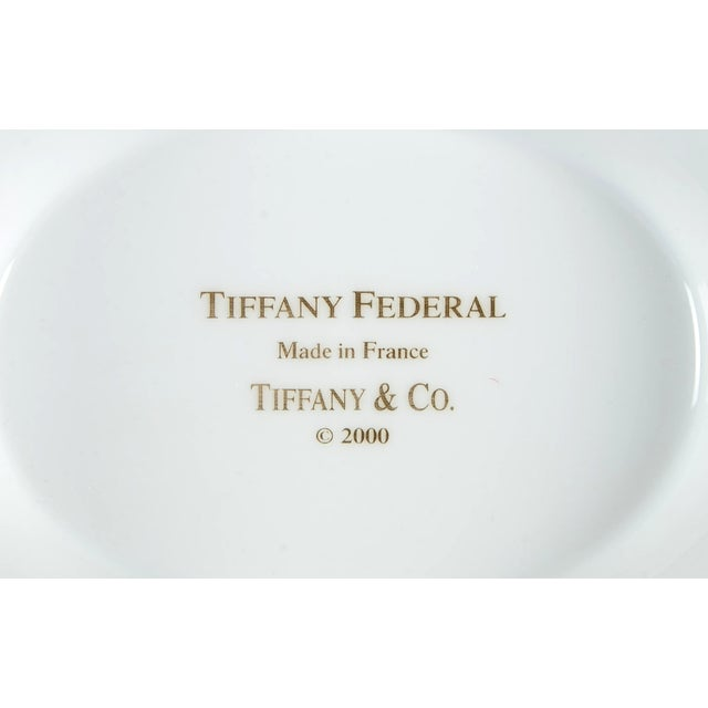Ceramic Tiffany Federal Oval Covered Server For Sale - Image 7 of 8