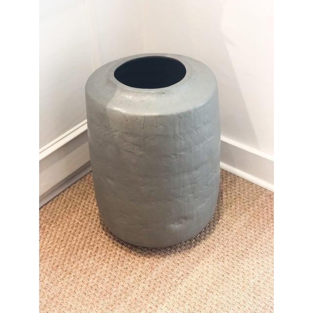 Ceramic Pot / Planter made by contemporary British sculpture artist Daniel Reynolds