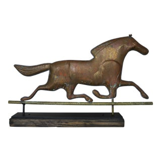 Dexter Horse Weather Vane on Iron Base For Sale