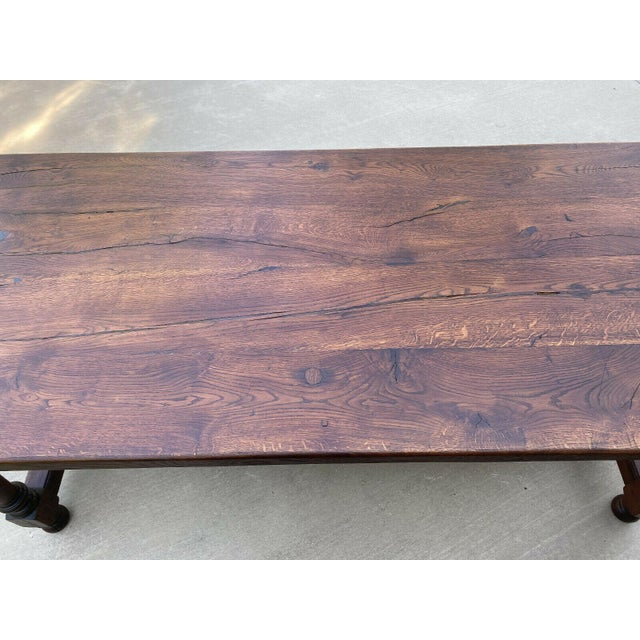 Antique French Country Oak Farmhouse Table Chairish
