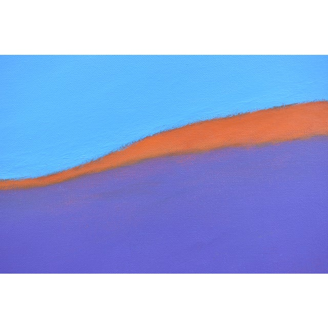"""Stephen Remick Stephen Remick """"Sunset on the Mountain"""" Contemporary Abstract Painting For Sale - Image 4 of 10"""