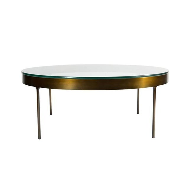 2010s Customizable Haworth Ring Cocktail Table For Sale - Image 5 of 5