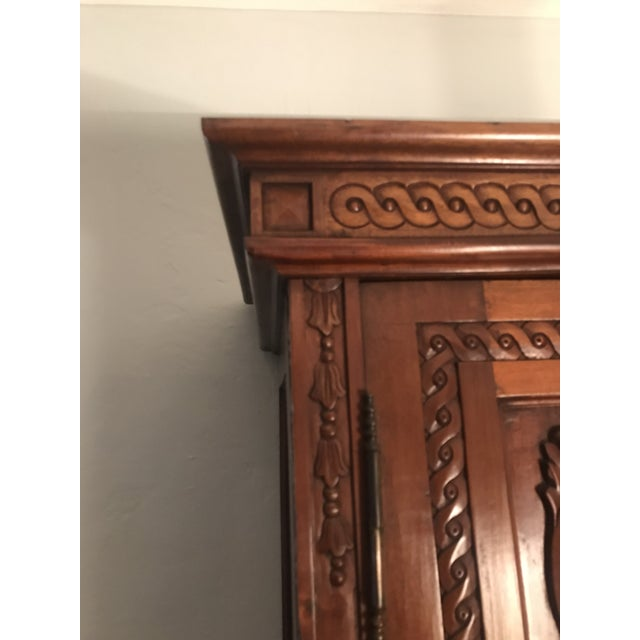 Antique French Country Armoire - Image 3 of 10