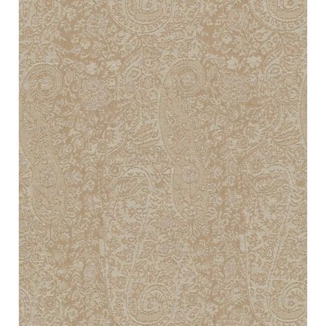 Torrington Paisley Sandalwood Fabric - 5 Yards - Image 2 of 2