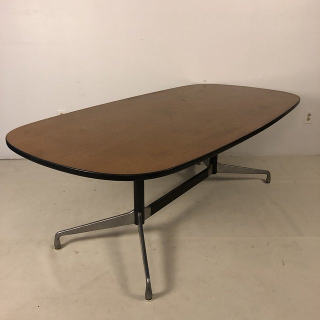 Herman Miller Aluminum Group Conference Table by Charles Eames For Sale In San Antonio - Image 6 of 11