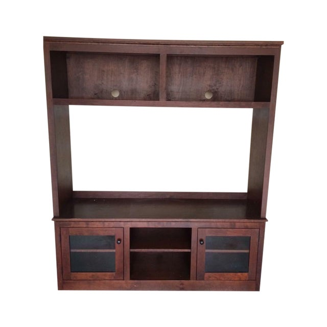 Crate and Barrel Entertainment Center - Image 1 of 4