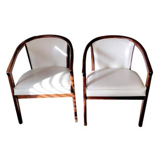 1970s Vintage Scandia Bucket Office Chairs - a Pair For Sale