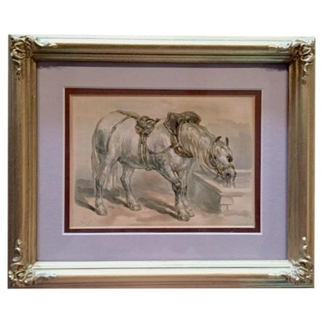 19th-C. Horse Book Plate by Fredrick Taylor - Image 1 of 3