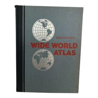 1981 World Atlas by Readers Digest