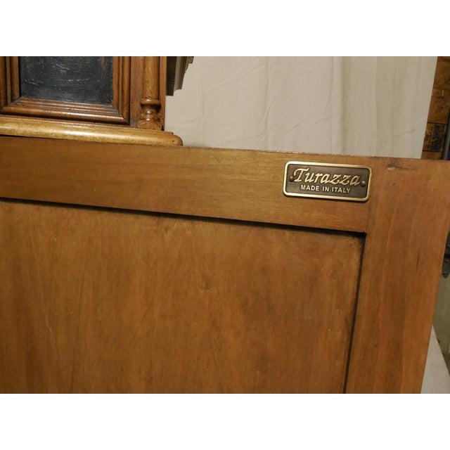 hekman turraza italian hand painted sideboard chairish. Black Bedroom Furniture Sets. Home Design Ideas