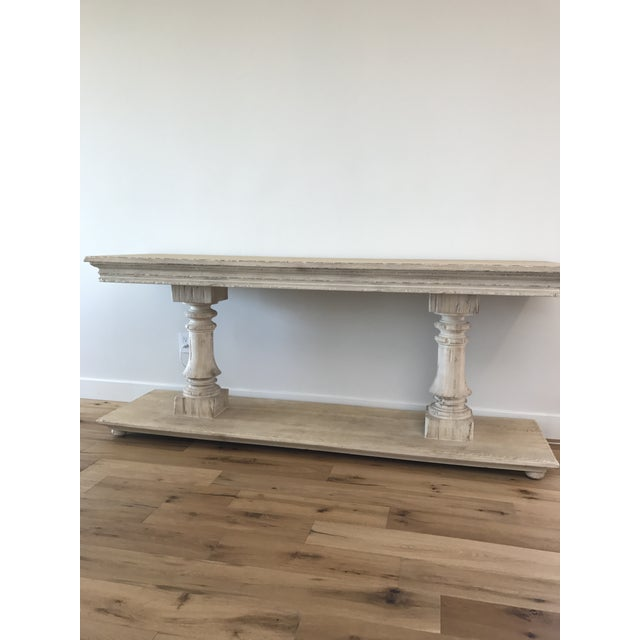 Modern History Console Table For Sale - Image 9 of 9