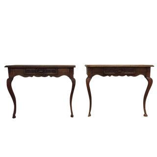 Antique Console Tables - A Pair