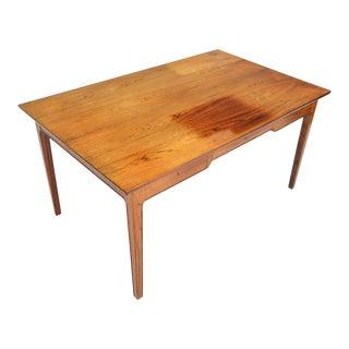Danish Modern Rosewood Writing Desk For Sale