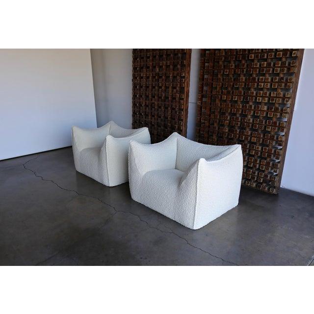 "Mario Bellini "" Le Bambole "" Lounge Chairs for B&b Italia, Circa 1985 - a Pair For Sale - Image 10 of 13"