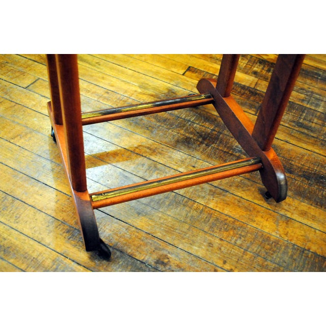 Gold Mid-Century Modern Valet by Ico Parisi for Fratelli Reguitti For Sale - Image 8 of 11