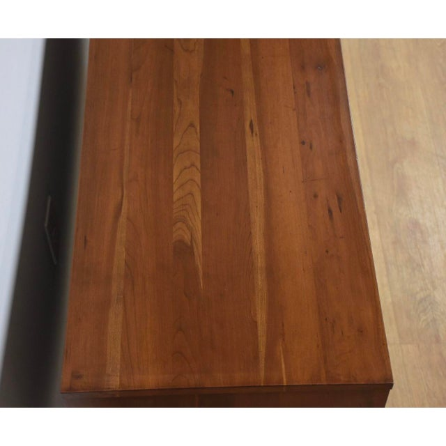Metal Solid Cherry Credenza by Kipp Stewart and Stewart MacDougall For Sale - Image 7 of 11