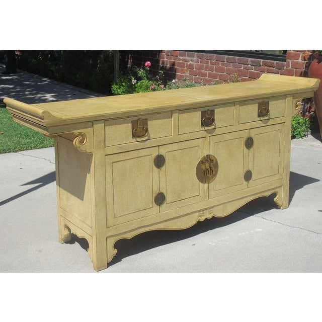Baker Furniture James Mont Style Buffet - Image 3 of 4