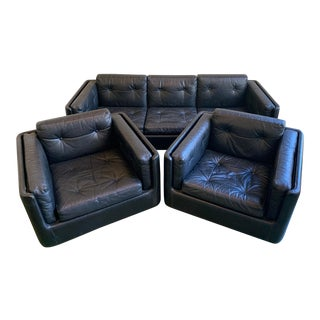 Mid-Century Sofa & Chairs - Set of 3 For Sale