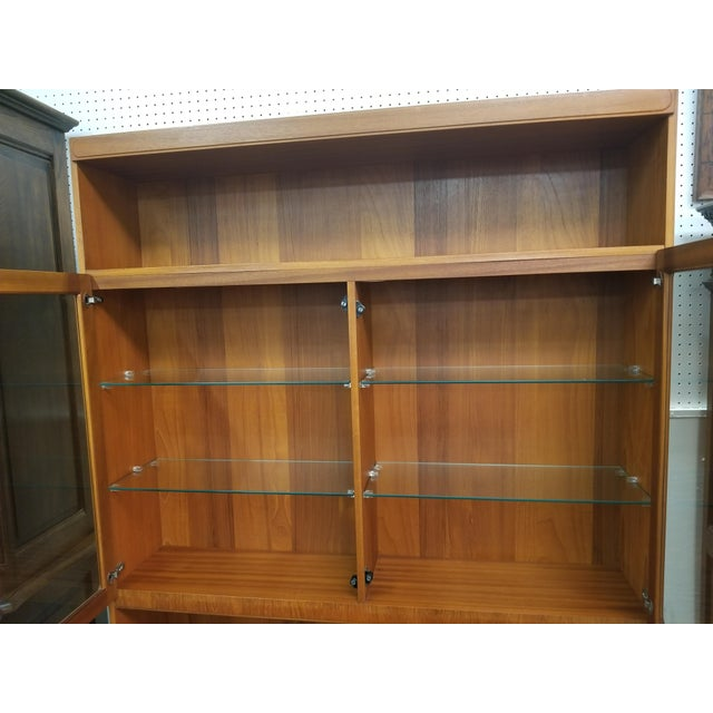 Mid 20th Century Mid Century Modern McIntosh China Cabinet For Sale - Image 5 of 8