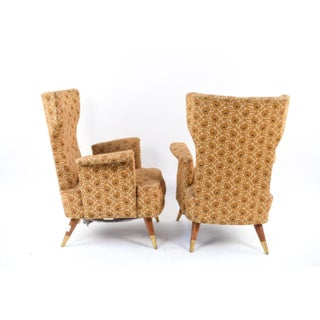 Mid Century Italian Armchairs Form - a Pair Preview