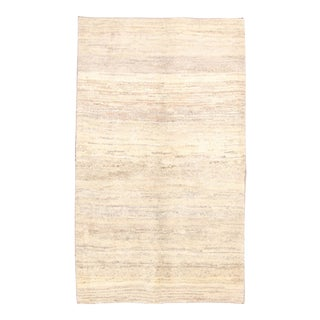 Vintage Mid-Century Persian Gabbeh Rug - 3′10″ × 6′7″ For Sale