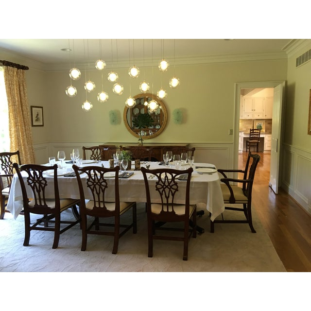 Mahogany Baker Stately Home Mahogany Dining Chairs - Set of 8 Style 5244 & 5245, Excellent Condition! For Sale - Image 7 of 7