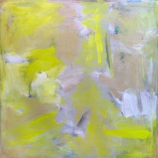 """Florida Sunshine"" by Trixie Pitts Large Abstract Expressionist Oil Painting For Sale"