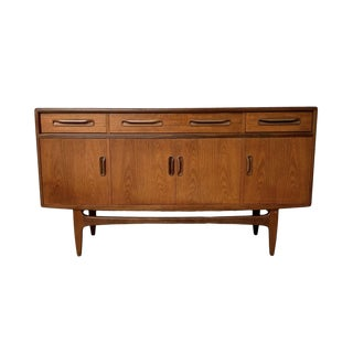 Mid-Century Modern English Teak Credenza by G-Plan Circa 1960 For Sale