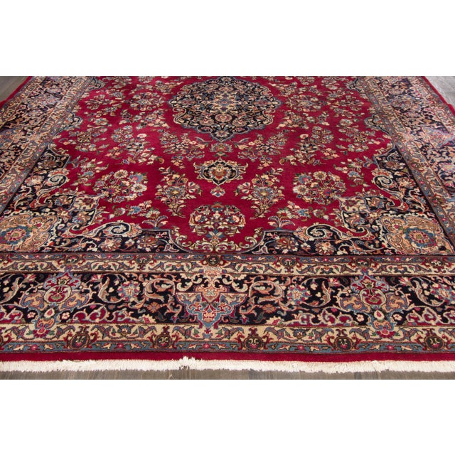 "Apadana Persian Rug - 9'7"" X 12'3"" - Image 5 of 6"