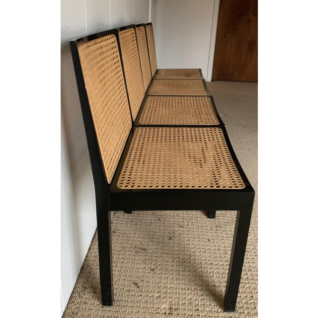 Mid-Century Modern Willy Guhl Stendig Black Lacquer Dining Chairs - Set of 4 For Sale - Image 3 of 9