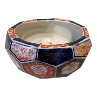 Imari Pot Circa 1890 Found in Northeast England For Sale