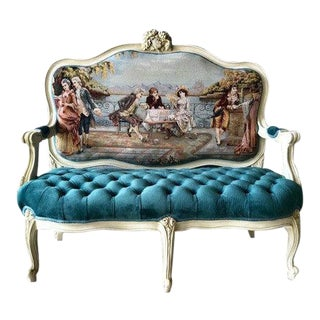 Custom Made Louis XVI Sofa For Sale