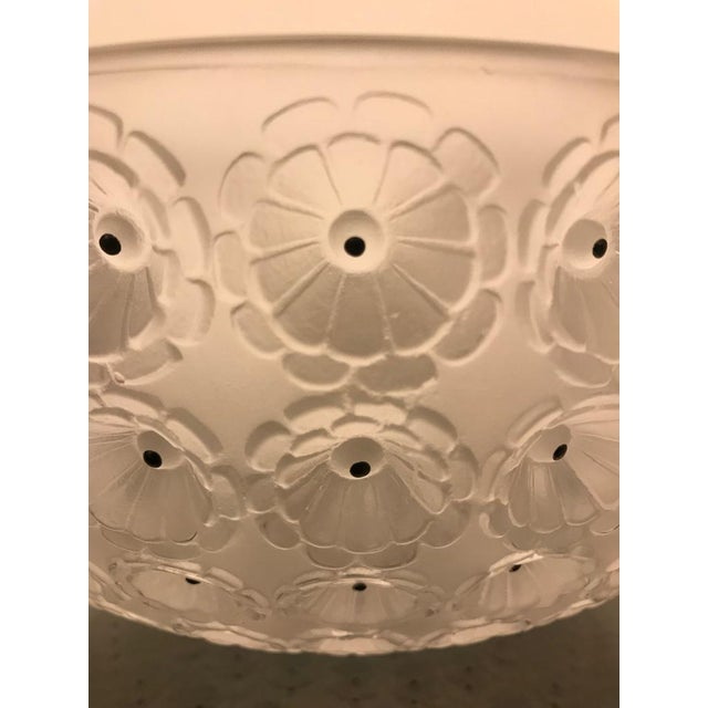 """Black Signed Lalique """"Nemours"""" Crystal Glass Bowl For Sale - Image 8 of 11"""