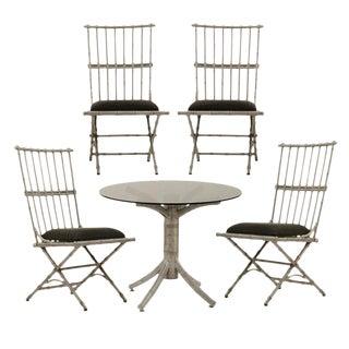 Set of Cast Aluminum Patio Furniture Circa 1950