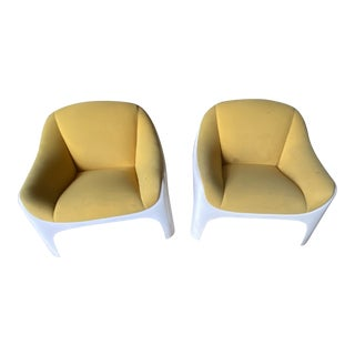 1960s Sergio Mazza Lounge Chairs - A Pair For Sale