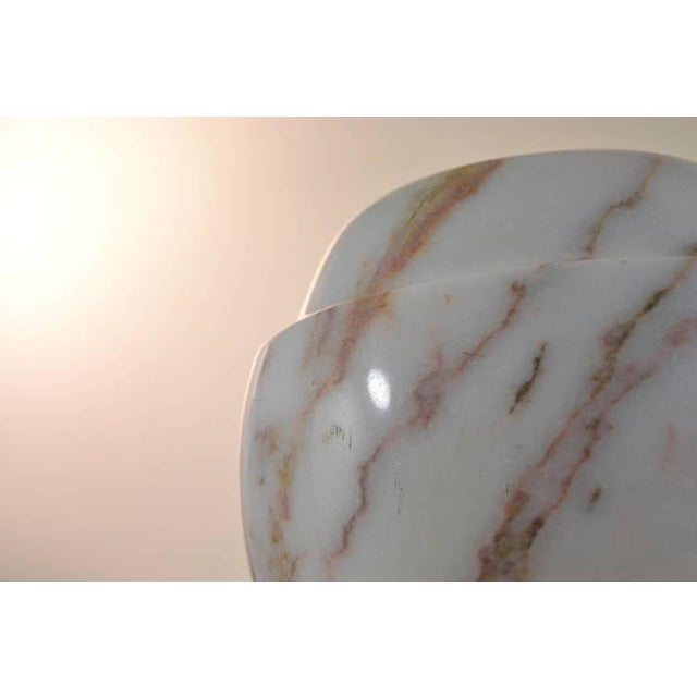 Polished Marble Vase For Sale In New York - Image 6 of 8