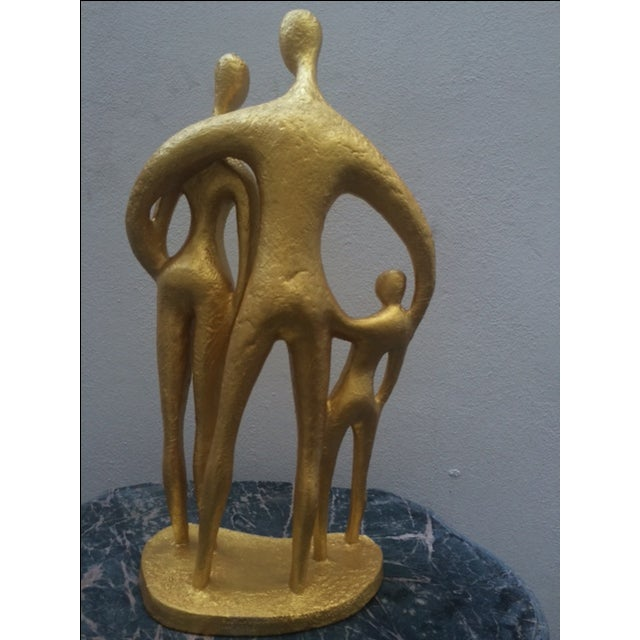"""""""Family"""", Mid-Century Sculpture by Austin Prod - Image 4 of 10"""