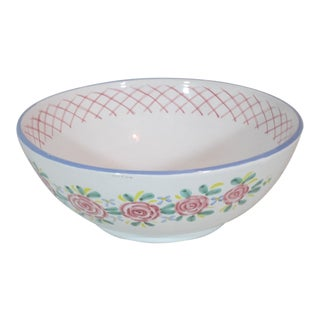 Large Kate Williams Cottage Bowl For Sale