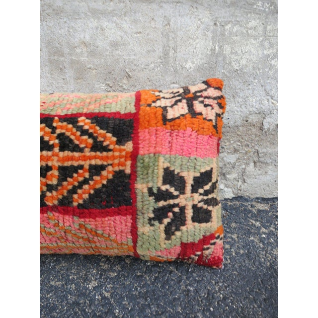 Valencia' Moroccan Berber Wool Pillow For Sale - Image 4 of 5