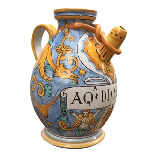 Blue & Yellow Cottura Vase
