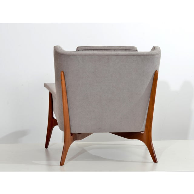 Kagan-Dreyfuss, Inc. Vladimir Kagan for Dreyfuss Lounge Chair, Circa 1950s For Sale - Image 4 of 7