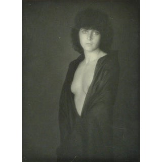 Vintage French Black and White Photograph - Dévêtue (Undressed) For Sale