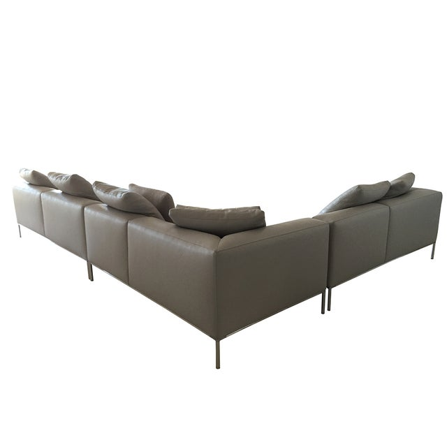 B&B Italia 'Frank' Leather Sectional - Image 4 of 8