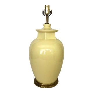 Vintage Citron Ceramic Lamp